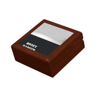 Honey badger gift box