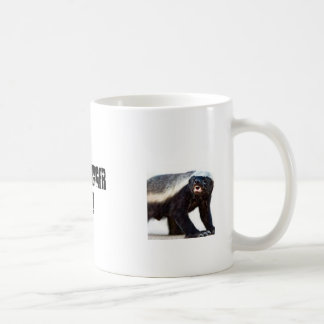 HONEY BADGER GOODS! COFFEE MUG
