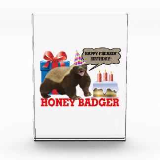 Honey Badger Happy Freakin' Birthday Awards