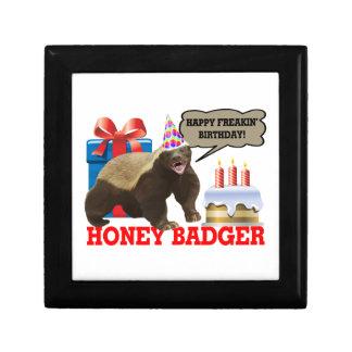 Honey Badger Happy Freakin' Birthday Gift Box