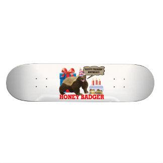 Honey Badger Happy Freakin' Birthday Skateboard Deck