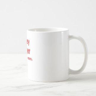 Honey Badger He Dont Care Coffee Mugs