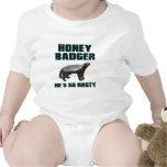 Honey Badger He's So Nasty Bodysuit