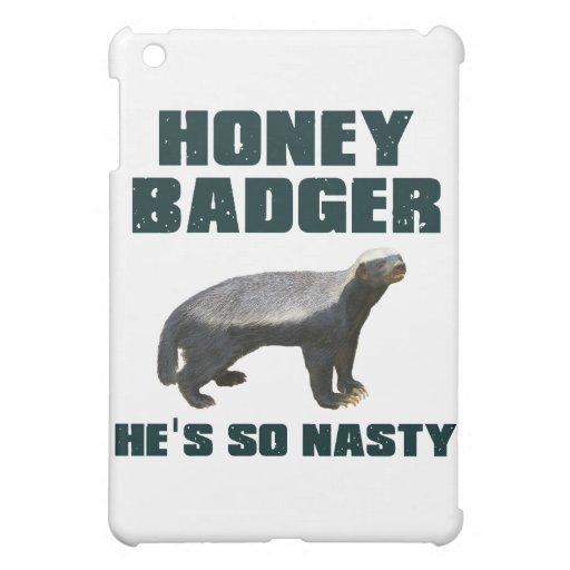 Honey Badger He's So Nasty Cover For The iPad Mini