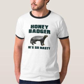 Honey Badger He's So Nasty T-Shirt