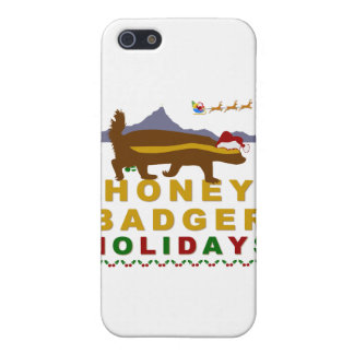 honey badger holidays covers for iPhone 5