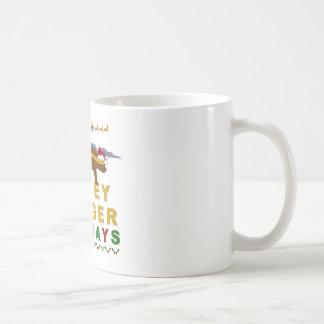 honey badger holidays mug