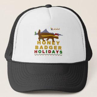 honey badger holidays trucker hat
