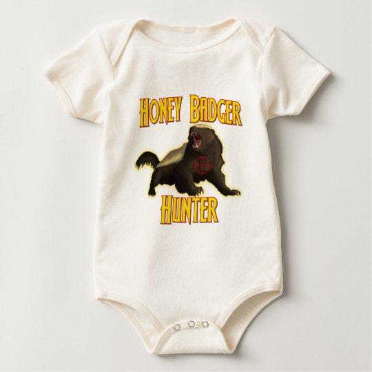 Honey Badger Hunter Baby Bodysuit