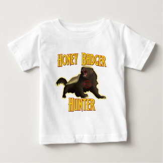 Honey Badger Hunter Baby T-Shirt