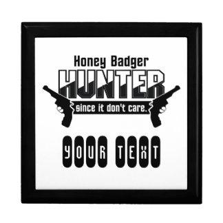Honey Badger Hunter custom gift box