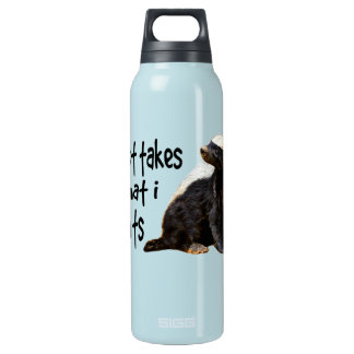 Honey Badger - I just takes what I wants Insulated Water Bottle
