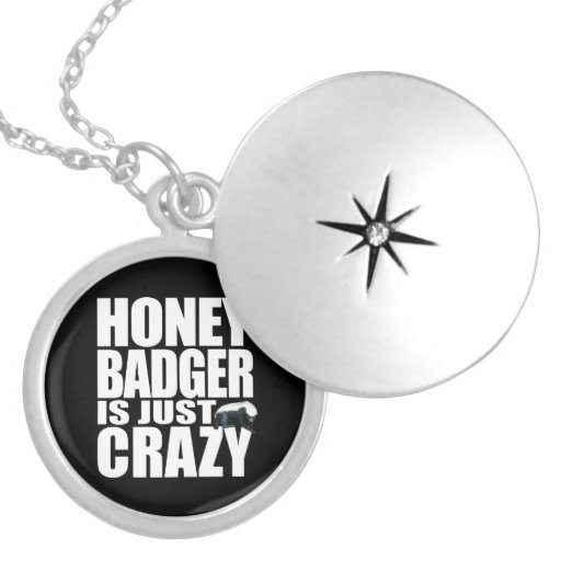 Honey Badger Is Just Crazy Necklace