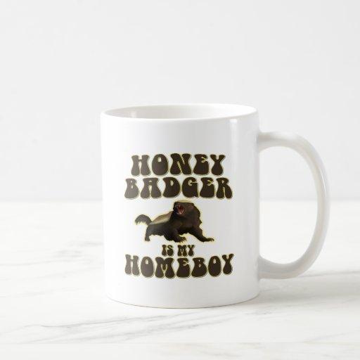 Honey Badger Is My Homeboy Coffee Mug