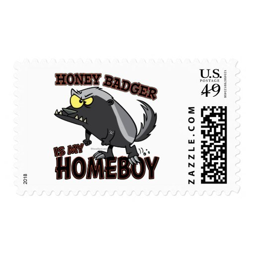 honey badger is my homeboy stamps