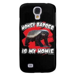 Honey Badger Is My Homie Samsung Galaxy S4 Cases