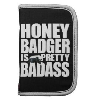 Honey Badger Is Pretty Badass Folio Organizer