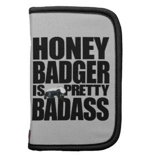 Honey Badger Is Pretty Badass Folio Organizers