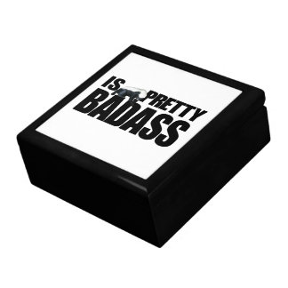 Honey Badger Is Pretty Badass Gift Box