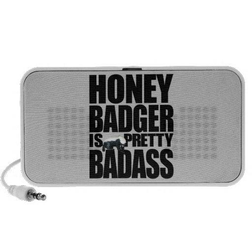 Honey Badger Is Pretty Badass Speaker