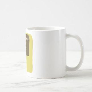Honey badger is watching you coffee mug
