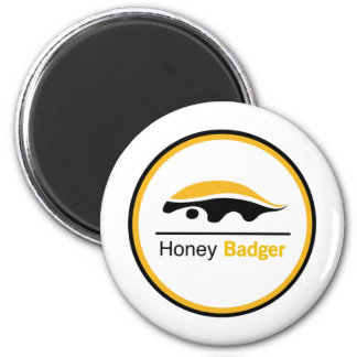 Honey Badger - It Just Don't Care 2 Inch Round Magnet