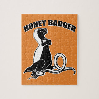 Honey badger jigsaw puzzle