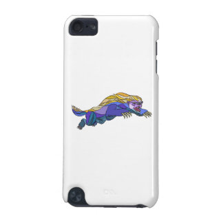Honey Badger Jumping Drawing iPod Touch (5th Generation) Case