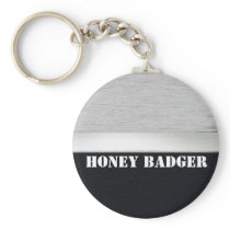 Honey badger keychain