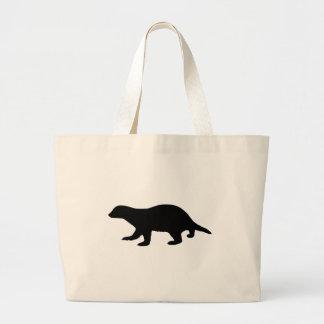 Honey Badger Large Tote Bag