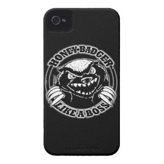 Honey Badger Like A Boss Blackberry Bold Cases
