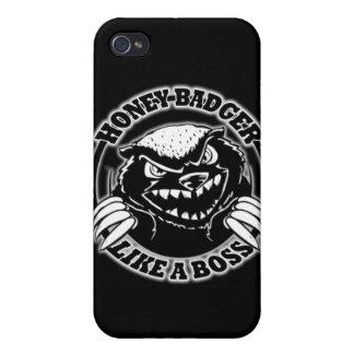 Honey Badger Like A Boss iPhone 4/4S Cover