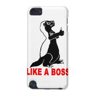 Honey badger, like a boss iPod touch 5G cover