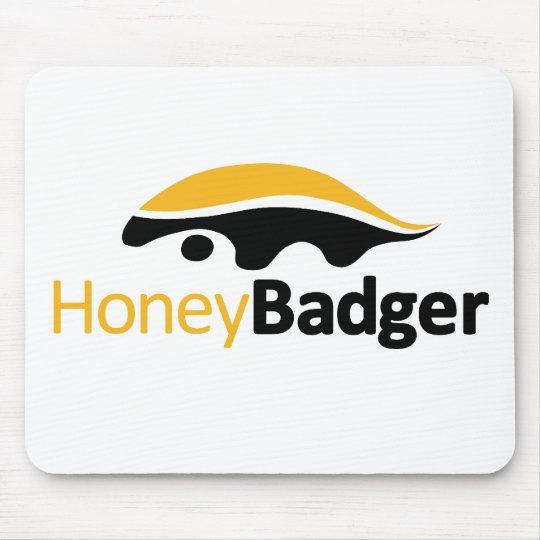 Honey Badger Logo Mouse Pad