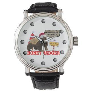 Honey Badger Merry Freakin' Christmas Watch