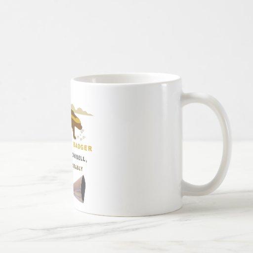 Honey Badger More Cowbell Classic White Coffee Mug