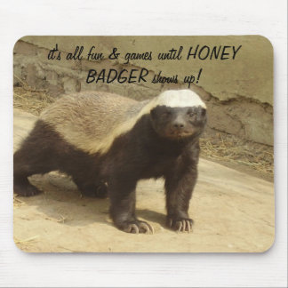 HONEY BADGER MOUSEPAD