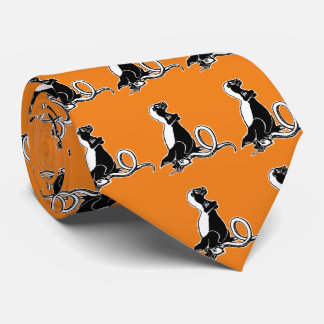 Honey badger neck tie