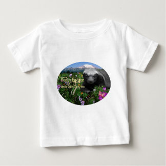 Honey Badger needs quiet time Baby T-Shirt