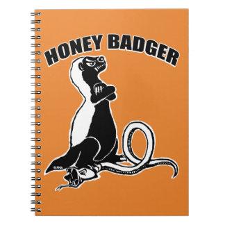 Honey badger notebook