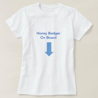 Honey Badger On Board Tee Shirt