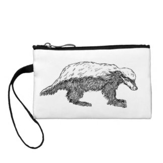 Honey Badger Or Ratel Coin Wallet