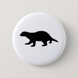Honey Badger Pinback Button