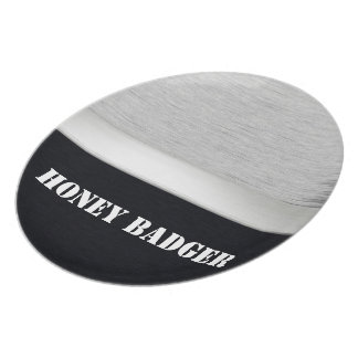 Honey badger party plate
