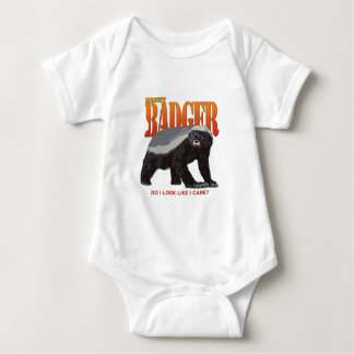 Honey Badger.png Baby Bodysuit