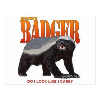 Honey Badger.png Postcard