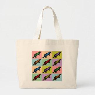 Honey Badger Pop Art Bag