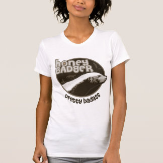 Honey Badger Pretty Badass (light) T-Shirt