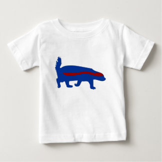honey badger red and blue baby T-Shirt