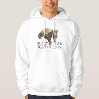 Honey Badger Revolution sweatshirt/hoodie Hoodie